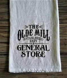 Flour Sack Towel Farmhouse