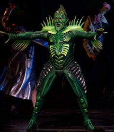 bing images of off broadway costumes | Spiderman Turn Off The Dark Broadway
