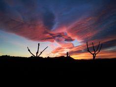 Espectacular puesta de sol en Valdemorillo.