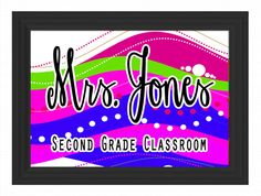 Teacher Decor Teacher Decor Teacher Decor Custom Framed Teacher Name Sign Board Personalized Letters Class School Gift Classroom Decor Chalkboard Wall Art Door Hanger Teacher Door Hangers, Teacher Doors, Chalkboard Wall Art, Teacher Name Signs, School Gifts, Crafty Craft, Classroom Decor, Custom Framing, Wood Signs