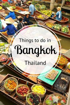 Things to Do in Bangkok City Guide