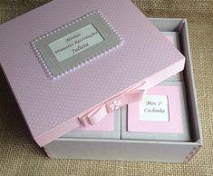 Caixa primeiras recordações bebê   Atelier Marcela Freitas - Criações Personalizadas   Elo7
