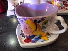 Pin for Later: 23 Things You Need to Know Before You Visit Tokyo Disney Here is a matching Alice cup and saucer that came included in the price of two desserts.