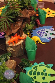 Diseño de Eventos y Spa para niñas en Querétaro | Cumpleaños de Dinosaurios