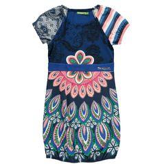 Desigual Mädchen Kleid blau Gr.128 kaufen bei Hood.de - Größe 128 Farbrichtung Blau Material Baumwolle