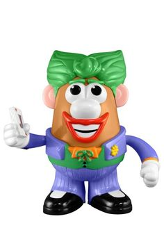 The Joker Mr. Potato Head - want... and tempted to get one for my friend who hates clowns... hehehehehe
