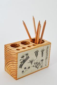 Botanical Desk Caddy - www.koromiko.com