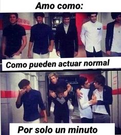 Read from the story Memes de One Direction by (����) with reads. One Direction Humor, I Love One Direction, One Ditection, 1d And 5sos, Larry Stylinson, Liam Payne, Reaction Pictures, Louis Tomlinson, Best Memes