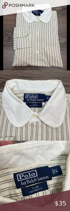 Club collar Bankers shirt White jacquard texture Gent White Easy Iron Mens Penny