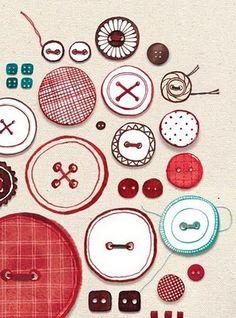 Buttons | Evajuliet #art #buttons