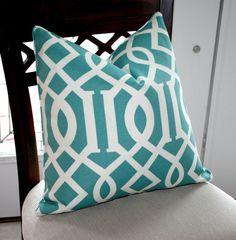 Designer Trellis Pillow Cover by trendypillows on Etsy, $38.00