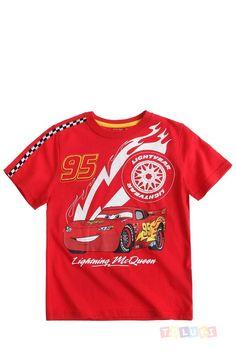 T-shirt #Cars Flash Mc Queen https://www.toluki.com/prod.php?id=1075 #enfant #Toluki #mode
