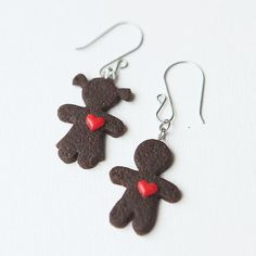 Earrings Sweet Love by Nechegonadet on Etsy, $28.00
