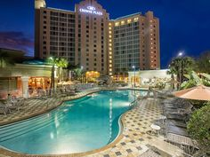 The Crowne Plaza Orlando Universal in Orlando FL - If you're staying in the Orlando Area for any reason consider the Crowne Plaza Orlando Universal Hotel. It is perfect if you're in town for a wedding,...
