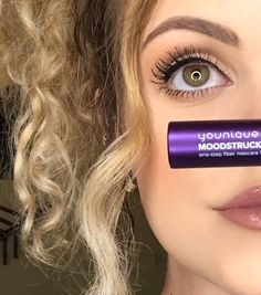The Younique Moodstruck Epic mascara has been specially developed to give extra length, volume and lift. No beauty salon required, no lash extensions and no false lashes! Thick Lashes, False Lashes, Younique Epic Mascara, Eyelash Extensions, Makeup Cosmetics, Hair Growth, Beauty Makeup, Curly Hair Styles
