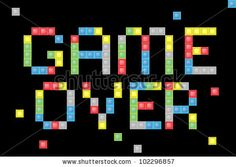 Game Over computer screen