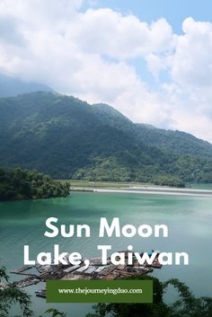 Cycle around Sun Moon Lake, Taiwan
