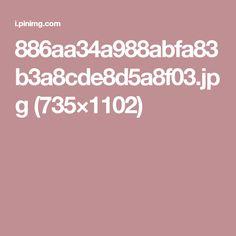 886aa34a988abfa83b3a8cde8d5a8f03.jpg (735×1102)
