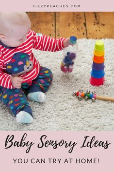 Baby Sensory ideas you can try at home - Fizzy Peaches | Brighton Parenting, Lifestyle and Food Blog