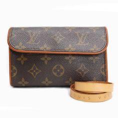 Louis Vuitton Pochette Florentine Monogram Shoulder bags Brown Canvas M51855