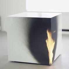 BURNING CUBE Jeppe Heins