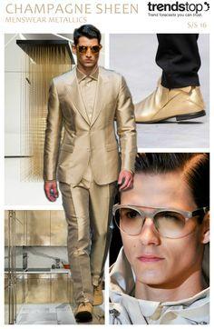 awesome Menswear Metallics S