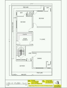 Guest House Plans, 3d House Plans, Indian House Plans, House Layout Plans, Duplex House Plans, Dream House Plans, Modern House Plans, Small House Plans, House Layouts