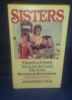 Jennifer Cole Sisters Series Boxed Set 5 Three's A Crowd Love The Kiss Vintage Nerd Stuff, Seventeen, Crowd, Books To Read, Kiss, Sisters, Reading, Vintage, Ebay