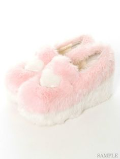 Candy Stripper (candy stripper), Shop | FLUFFY HEART SLIP-ON