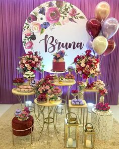 Birthday Party Decorations For Adults, Valentines Day Decorations, 18th Birthday Party, It's Your Birthday, Seating Plan Wedding, Gold Bridal Showers, Its My Bday, Fiesta Party, Decoration Table