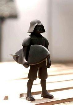 Surfer Vader