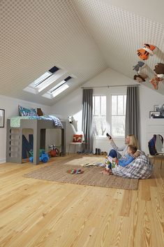 If you're looking for loft conversion idea to start planning for daylight in your loft conversion, VELUX can help you find your inspiration. Loft Playroom, Bedroom Loft, Pergolas For Sale, Pergola Curtains, Roof Window, Wooden Pergola, Pergola Kits, Home And Family, Family Homes