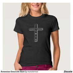 Armenian Genocide Shirt  #Genocide #Armenian #Armenia #Turkey #Justice #Shirt #Tshirt #Tee #Cross