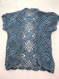 Ravelry: Handed crochet vest pattern by DaisyEzyCraft