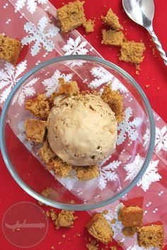 Gingerbread Ice Cream - Scoop Adventures