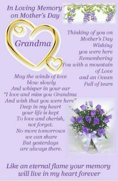 Love And Miss You Grandma So So Much Quotes And Sayings