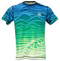 INKnBURN Mens Athletic Shirt Flow - Front Wish they made a men's XS!