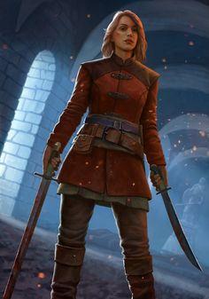 f Rogue Thief Leather Armor Sword Short Sword urban city midlv undercity