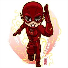 chibi flash and green arrow - Google Search