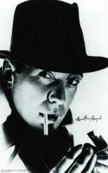 Humphrey #Bogart poster: #Cigarette (24'' X 36'' Poster) $6.97