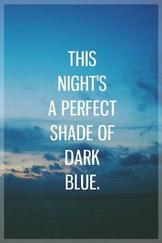 I love the night sky