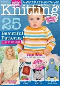 Womans Weekly Knitting Crochet March 2016 - understatement - understatement