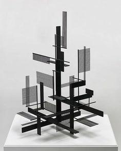 SIDNEY GORDIN (1918-1996) AMERICAN CONSTRUCTIVIST SCULPTOR & PAINTER