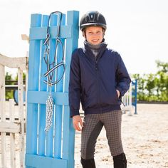 Horze One4All children's summer jacket. Well suited for embroidery work; perfect for your club.