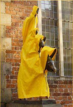 France Travel, Germany Travel, Bremen Germany, Sculpture Art, Street Art, City, Musicians, Sauerkraut, Statues