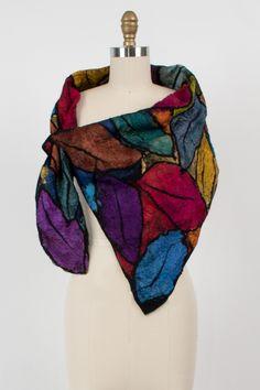 Carol Neck Scarf by Elizabeth Rubidge (Silk and Wool Scarf) | Artful Home