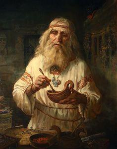Shishkin Andrei-herbalist (травник)