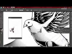 The Best Tutorial To Learn Line Art Using Adobe Illustrator - YouTube