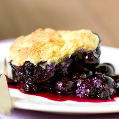Blueberry Cobbler Recipe   Key Ingredient