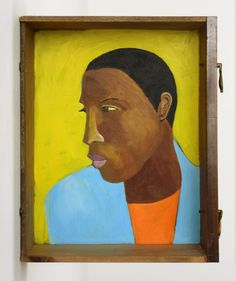 Lubaina Himid's Man in A Shirt Drawer (2017–18).